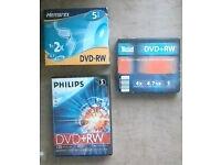 15x DVD-RW New unused.