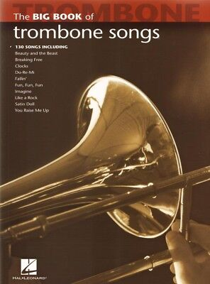 The Big Book of Trombone Songs 130 Titel Noten für Posaune