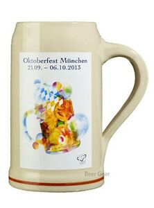 2013 Munich Oktoberfest Stein - 1 Liter - Mugs Stocked in USA by Beer Gear