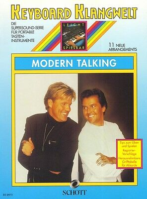 Modern Talking Keyboard Klangwelt Songbook Noten leicht