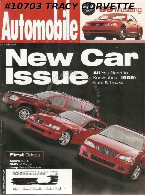 October 1998 Automobile Audi TT Coupe 1.8T Quattro BMW M Coupe Vintage Montlhery