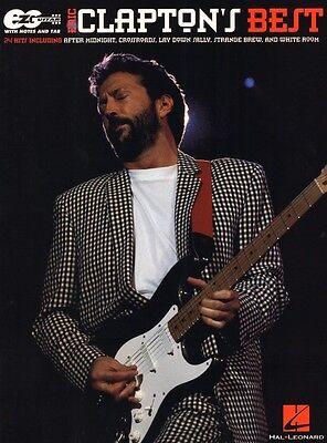 Eric Clapton Easy Guitar Songbook Noten für Gitarre leicht