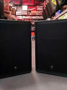 MACKIE SRM650 SPEAKERS *DEMO* EXCELLENT CONDITION - AMAZING PRICE $689 EACH