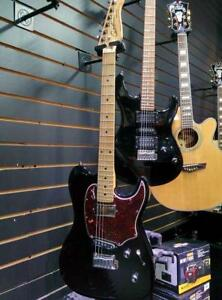 Godin Session Custom 59 ELECTRIC GUITAR black with case Excellent condition, AMAZING TONE!!!!  $995