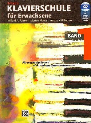 Alfred's Klavierschule für Erwachsene Band 1 Noten mit CD