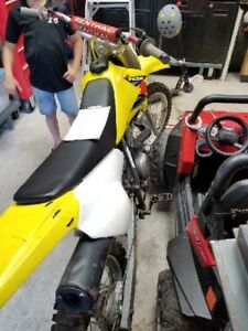 2003 Suzuki DRZ 125 trade for crf250/snowmobile