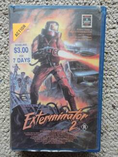 VHS Tape - Exterminator 2 PAL Format Rare Norah Head Wyong Area Preview