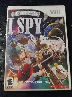Ultimate I Spy (Nintendo Wii, 2008)