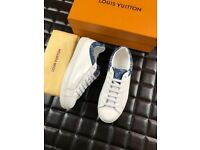 Louis Vuitton hhite - Sneaker Shoe - Blue Back Trainers - Limited sizes left - FULLY BOXED