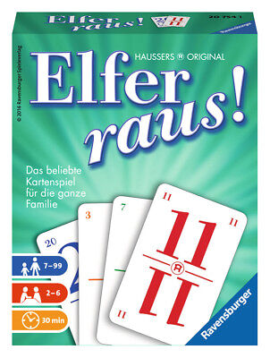 Ravensburger 20754 Elfer raus Kartenspiel Neu&OVP