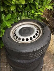 vw t5 transporter wheels and tyres 205 65 R16