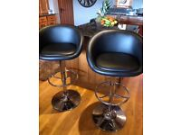 "Stunning Debenhams ""Pittsburgh"" breakfast bar stools for sale! Cost £200!! Grab a bargain!"