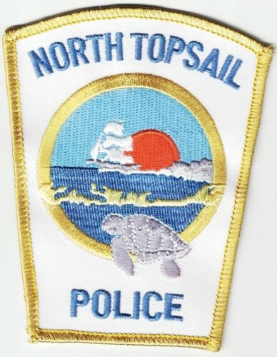 North Topsail Police North Carolina NC Police Patch