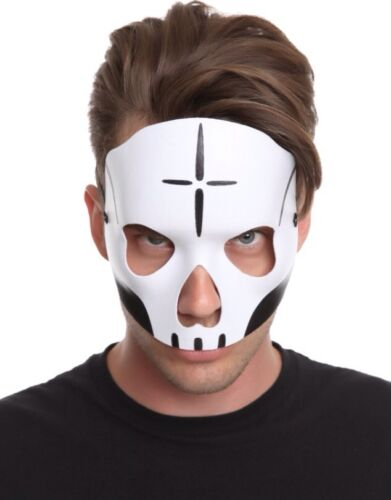 New Day of the Dead Face Mask Mens Costume Male