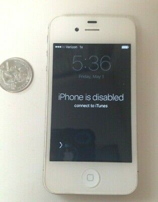 Apple iPhone 4s White a1387 EMC 2430