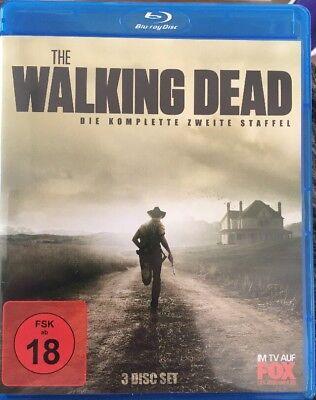 Bluray Serie The Walking Dead - Komplette 2. Staffel 3 Blurays Kult (Komplette Zombie)