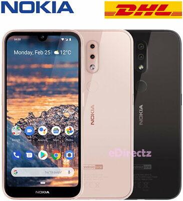 Nokia 4.2 32GB DualSIM LTE 3GB RAM Entsperrt Handys Mobile Android One TA-1157 ()