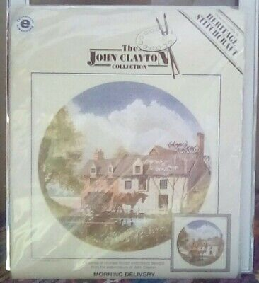 Heritage - The John Clayton Collection: Morning Delivery cross stitch kit