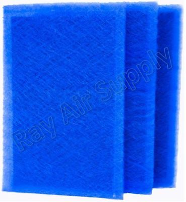 RayAir Supply Dynamic Air Cleaner Replacement Filters Blue (3 Pack) ALL SIZES Air Cleaner Replacement Filter
