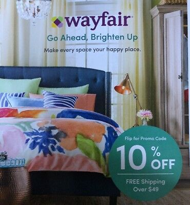 Wayfair 10  Off First Time Purchase Home Furniture Online Promo Code Discount