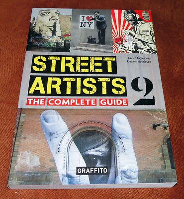 "Graffiti Buch / Magazine ""STREET ARTISTS 2"" Urban Art Montana Molotow MTN"
