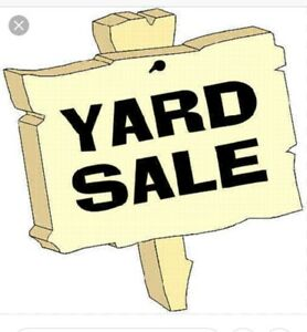 Multi-family yard sale. 8am -12 noon