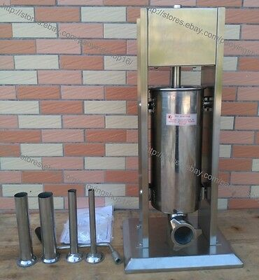 5L Home Restaurant Sausage Filler Sausage Stuffer Sausage Salami Maker Machine