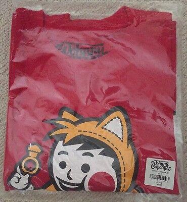 New Sidekick Big Kid Johnny Cupcakes Sonic The Hedgehog Men's Shirt Large Sega