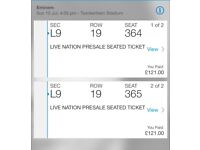 Eminem tickets x 2 - Twickenham stadium, Sunday 15th July 2018