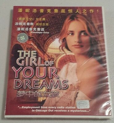The Girl of Your Dreams Import video cd Penelope Cruz VCD