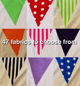10mtrs-BUNTING-CHOOSE-YOUR-OWN-STYLE-BIRTHDAY-WEDDING-BABY-SHOWER-FAST-DISPATC