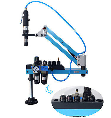 M3-m12 Flexible Arm Pneumatic Tapping Machine Vertical Tapping 1000mm 400rpm