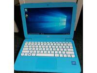 HP Aqua Blue Laptop New