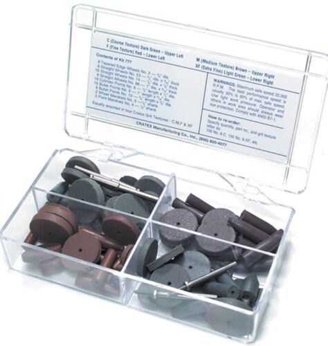 Cratex Assortment, 80 Pieces
