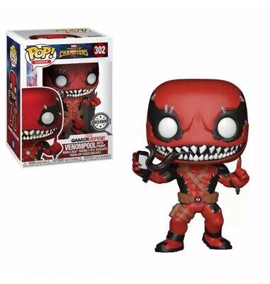 Funko POP! Marvel: X-men: Deadpool venomizado Exclusivo