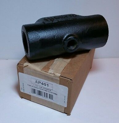 NEW- Watts Air Purger for closed heating systems, Threaded 1 1/4