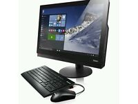 "Lenovo ThinkCentre M900z 23.8"" All in One PC Core i5-6500, 4GB, 500GB+ 8GB SSHD"