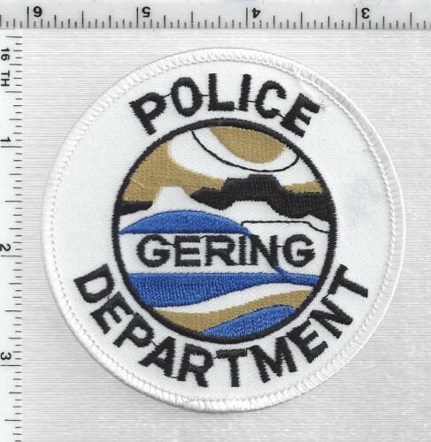 Gering Police (Nebraska) 1st Issue Shoulder Patch