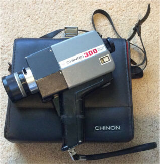 Chinon 300 reflex zoom super 8 video camera