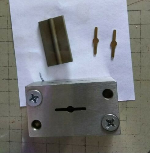 Punch tool for Cutting earring backs stoppers/Jewelry Making metal Cutting tool