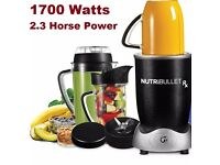 Nutribullet RX Bases only 1700Watts 2.3 horse power Genuine