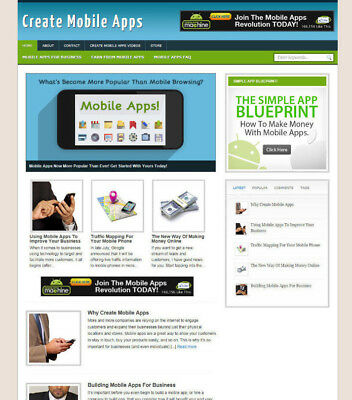 Create Mobile Apps Website Affiliate Store Blog With Domain Hosting