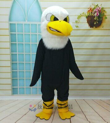 Hawk Mascot Costume Suit Cosplay Party Game Dress Outfit Halloween Adults Unisex](Hawk Costume)