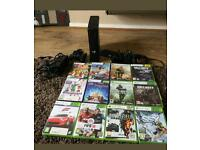 Xbox 360 slim 250 GB with KINNECT and 12 top games cheapest on Gumtree