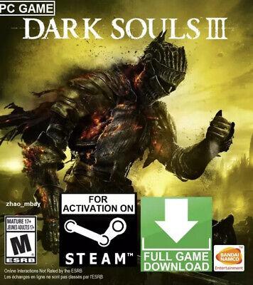 DARK SOULS III 3 PC GLOBAL STEAM KEY [KEY ONLY!] FAST DELIVERY! Challenging RPG segunda mano  Embacar hacia Argentina