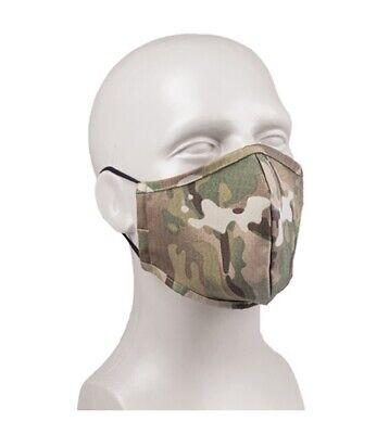 Multitarn Mundschutz Nasenschutz Spuckbremse Rotzbremse camouflage Maske