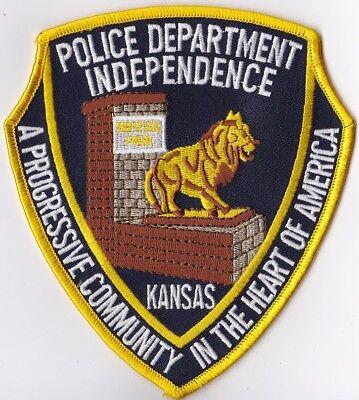 Independence Police Dept. Police Patch Kansas KS