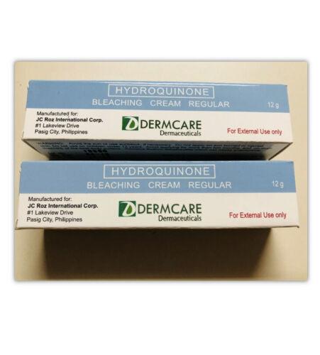 HYDROQUINONE 2% BLEACHING CREAM EACH 12GRM.X 2 TUBE