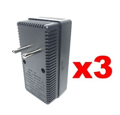 EU Europe to USA 50-2000W Voltage Converter 220v to 110v Power Transformer 3PACK