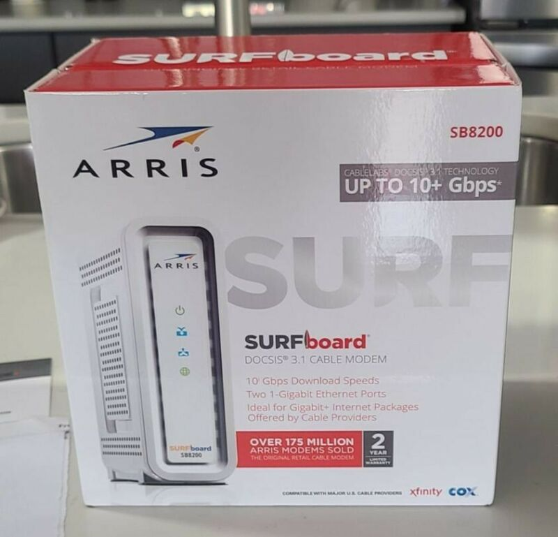 Arris SB8200 Surfboard.